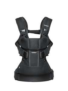 BABYBJÖRN Baby Carrier One - in Black £83.95 @ Amazon (plus Free Mam Bottle for Prime Members)