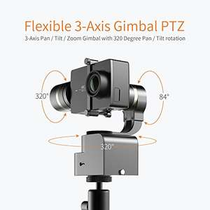 [Amazon Lightning Deal] - YI 4k action camera and 3-Axis Gimbal £221.99 Sold by YI Official Store UK and Fulfilled by Amazon