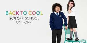 Upto 20% Off School Uniform + Free Delivery w/code @ Debenhams