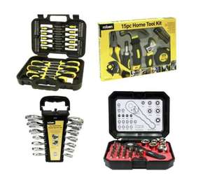 Rolson 104-piece Home DIY Kit £24.99 + Free £5 Voucher back @ Maplin (Free C&C only)