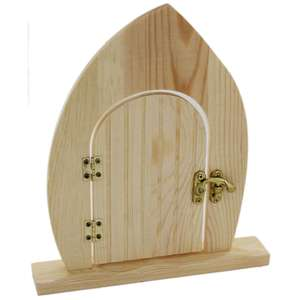 Wooden Fairy Door was £2 now £1 C+C @ The Works (Spend £10 & Get 20% Off with code)