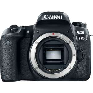 DSLR Canon  77D Body only £494 with code @ Eglobal central
