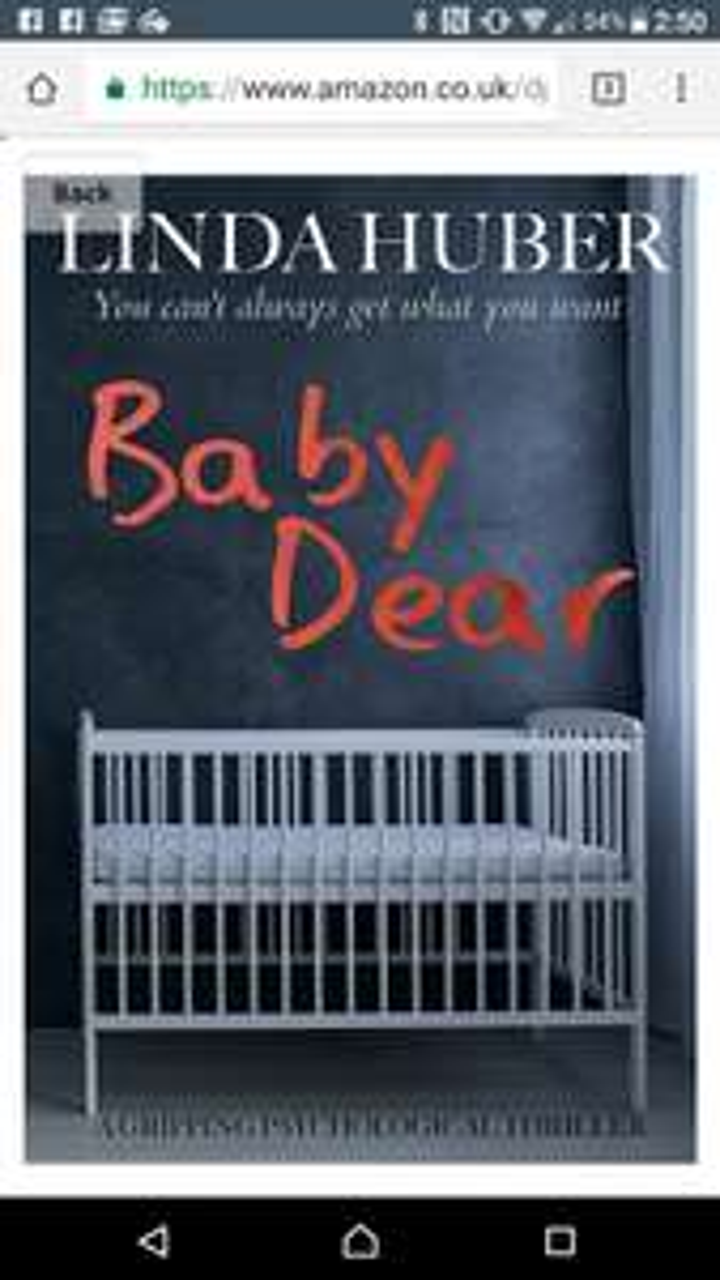Psychological thriller baby dear by Linda Huber free for kindle