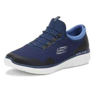 Skechers Womens Navy / Blue Synergy 2.0 Mirror Image Trainers £30 @ Tower London