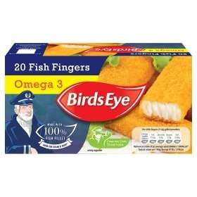 Birds Eye 20 pack (pre shrinkflation) £1.49 at Heron foods
