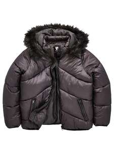 V by Very Girls Padded Coat ages 6yrs - 16yrs half price now from £13.50 C+C @ Very (more inc Men's / Women's in OP)