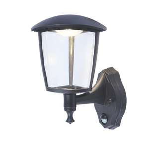 LAP 2617S LED PIR WALL LIGHT BLACK 300LM 9.2W now £12.99 @ Screwfix (Free C&C)