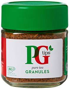 PG Tips 80 Cups Tea Granules £0.75 @ Asda Benton