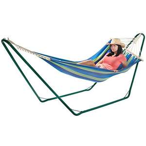 VonHaus Hammock with Metal Frame £32.98 delivered at DOMU UK via Amazon
