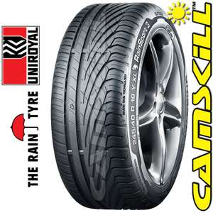 Uniroyal Rain Sport 3 - 225/40 R18 92Y XL - @ Camskill £60.05 +£6.90 delivery for 1 tyre, £7.90 for 2