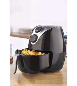 EGL 2.6 Litre Black Mechanical Air Fryer. £29.99 until 8pm. £39.99 after. Free del using code @ Studio