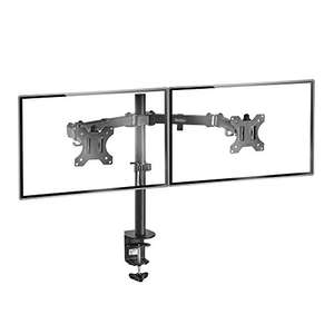 "VonHaus Dual Monitor Mount for 13-32"" Screens (VESA 75 & 100) £19.54 @ Amazon (Dispatched from and sold by DOMU UK.) Lightning Deal"