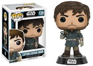 Funko Pop! Movie: Star Wars Rogue One - Captain Cassian Andor - £3.99 Amazon (add-on item)