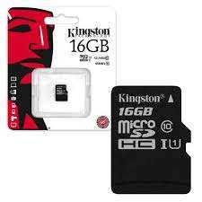 Kingston Micro SD SDHC Memory Card 45MB/s Class 10 UHS-1 - 16GB £5.69 @ 7DayShop