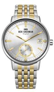 Amazon: Ben Sherman Mens Watch WB071GSM Sold By Amazon @ £16.14 for Prime/£20.13 for Non-Prime