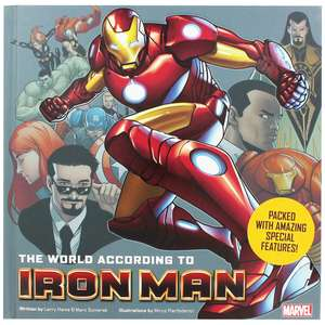 The World According to Iron Man (Hardback Book with Poster) only £3.50 with Free C&C @ The Works