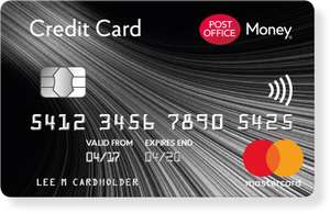 Post Office 30 months 0% interest on purchases and balance transfers​ Plus extras