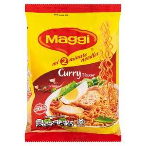 Maggi 2 Minute Curry Noodles 79G 4 for £1 @ Tesco