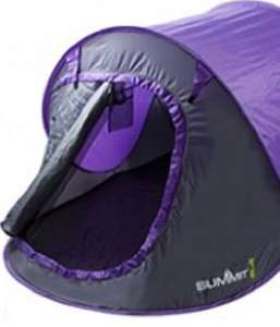 Summit 2 Man ( persons ) Pop Up Tent £11.99 delivered @ CPC