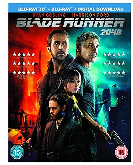 Blade Runner 2049 3D & 2D Blu Ray & digital download instore £14.99 @ Sainsburys