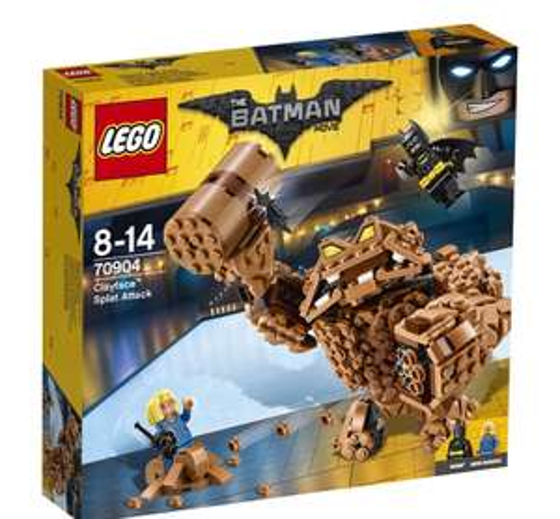 LEGO - The Batman Movie - Clayface - Splat Attack 70904 £15 at Debenhams