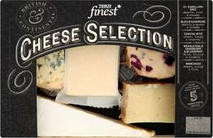 In-store Tesco Finest Cheese Selection (480g) - reduced from £8 to £1.75 (Cannon Park Coventry)