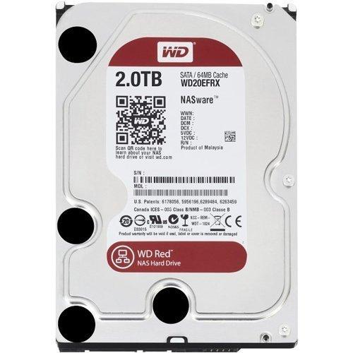 Western Digital WD RED 2TB SATA Hard Drive £62.99 amazon