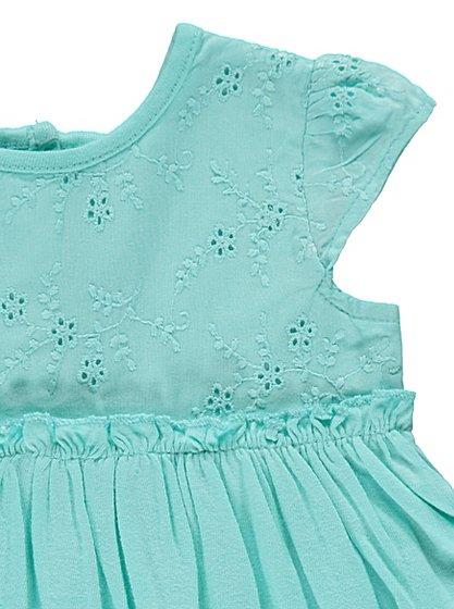 Embellished girls dress age 0-3 upto 9-12 months £2 @ asda george