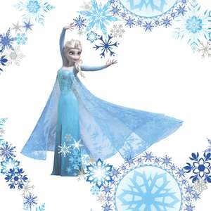 Frozen Snow queen,princess,Disney cars wallpaper now £6 a roll @ wilkinsons