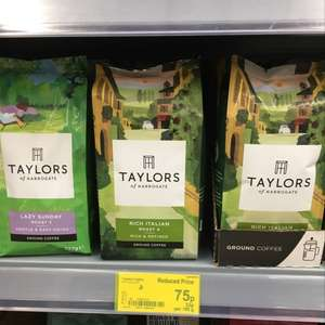 Taylor's rich Italian  roast ground coffee - 75p @ Asda instore only