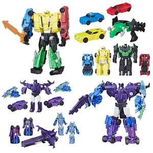 Transformers Robots in Disguise Team Combiners - just £9.99 at B&M