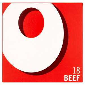 Oxo 18 Beef Stock Cubes 106g - 75p @ Iceland