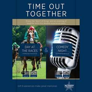 Day at the Races and Comedy Night for Two - Activity Superstore - Time Out Together gift experience for 2 with Free Delivery at Debenhams