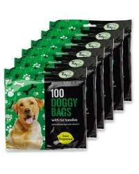 Tidyz Doggy Waste Bags 600-Pack £3.90 at Aldi