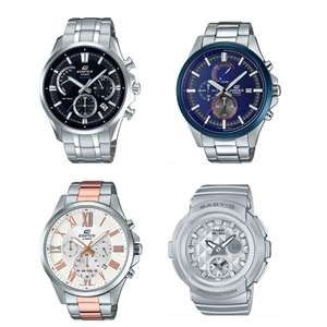 Casio Flash Sale @ Watches2U - Includes the Edifice  EFB-550D-1AVUER  now £99.99 (More in OP)