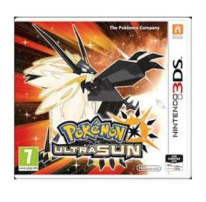 Pokemon ultra sun 3ds pre-owned £19.99 @ Grainger games