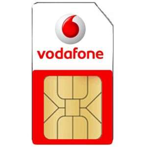 Vodafone Basics - SIMO unlimited mins & texts and 3GB 4G data £8 OR 5GB £10pm (12 months) @ Vodafone