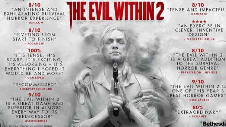 The Evil Within 2 - PS4 £14 prime / £15.99 non prime @ Amazon