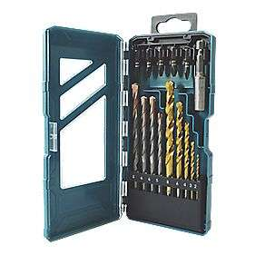 Combination Drill and Screwdriver bit set £4.49 @ Screwfix