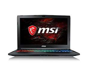 "MSI GP62 15.6"" FHD Gaming Laptop (Core i7-7700HQ, 8GB RAM, 128GB SSD, 1TB HDD, GTX 1060 Graphics, Windows 10 Home) 7RFX Leopard Pro 880UK - Black £949.97 @ Amazon"