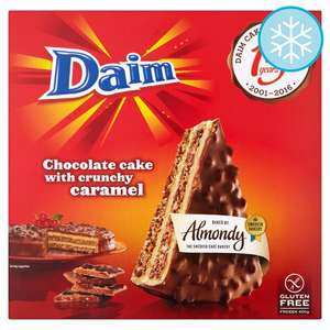 Almondy Daim Chocolate Cake 400G - serves 8 -  £2 @ Tesco