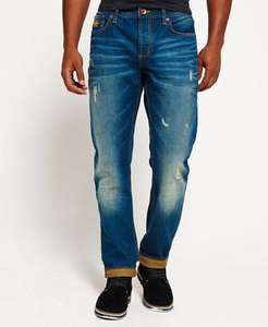Mens Superdry Copperfill Loose Jeans Riveter Vintage £18.99 delivered @ Superdry eBay
