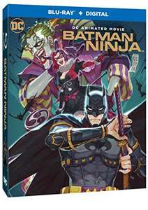 Batman ninja - Blu ray £16.99 prime / £18.98 non prime @ Amazon