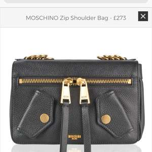 MOSCHINO Zip Shoulder Bag £273.00 Reduced from £910 @ Flannels
