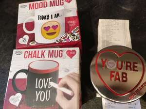 Valentine's gifts all now 19p each instore @ Aldi - Huntingdon