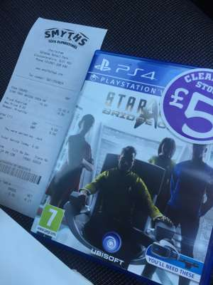 Star Trek: Bridge Crew (PS4/PSVR) £5.00 @ Smyths in-store