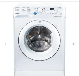 John Lewis : Indesit Innex BWD71252 Freestanding Washing Machine, 7kg Load, A++ Energy Rating, 1200rpm Spin, White £199.99