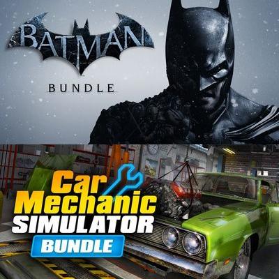 Batman Arkham Asylum / City / Black Gate Deluxe / Origins + DLC £7.49 OR Car Mechanic Simulator bundle £1.69 @ Fanatical [PC - Steam]
