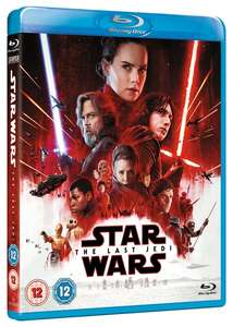 Star Wars: The Last Jedi (With Limited Edition The Resistance/The First Order Artwork Sleeve) [Blu-ray] £13.49 @ Zoom