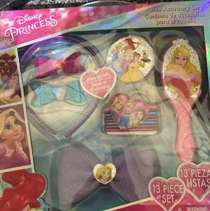Disney Princess hair accessories set in store in Poundland for £1